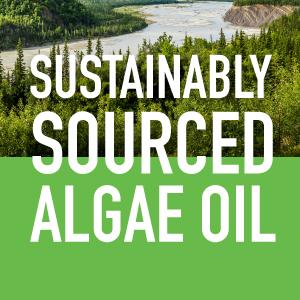 Sustainably sourced vegan algae oil omega