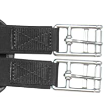 """Acerugs Neoprene English GIRTHS Sizes 34/"""" to 54/"""" Shaped Contoured All Purpose Non Slip Horse TACK CHAFELESS Breathable"""