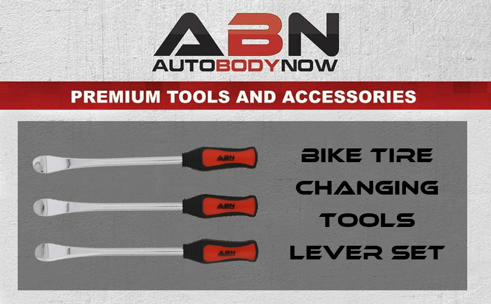 ABN | Bike Tire Changing Tools 3-Piece Bicycle Tire Lever Set