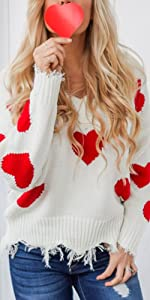 Valentine's Day sweater