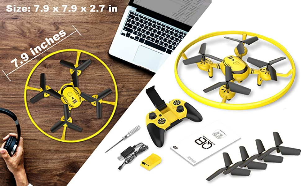 drones with spare parts