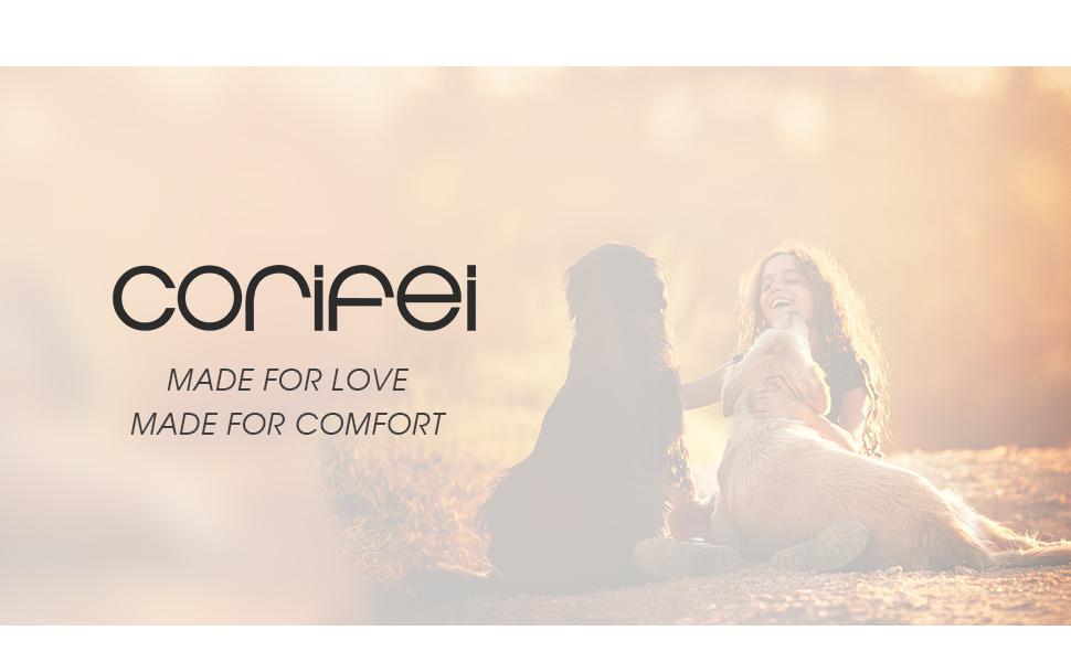 CORIFEI, LASTING COMFORT, FREE YOUR FEET!