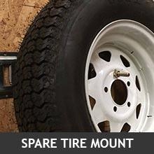 E-Track Spare Tire Mount