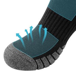 Mens Socks Cotton Dress Sock Women Trainer Socks,Boot Socks Breathable Casual Crew Socks for Mens