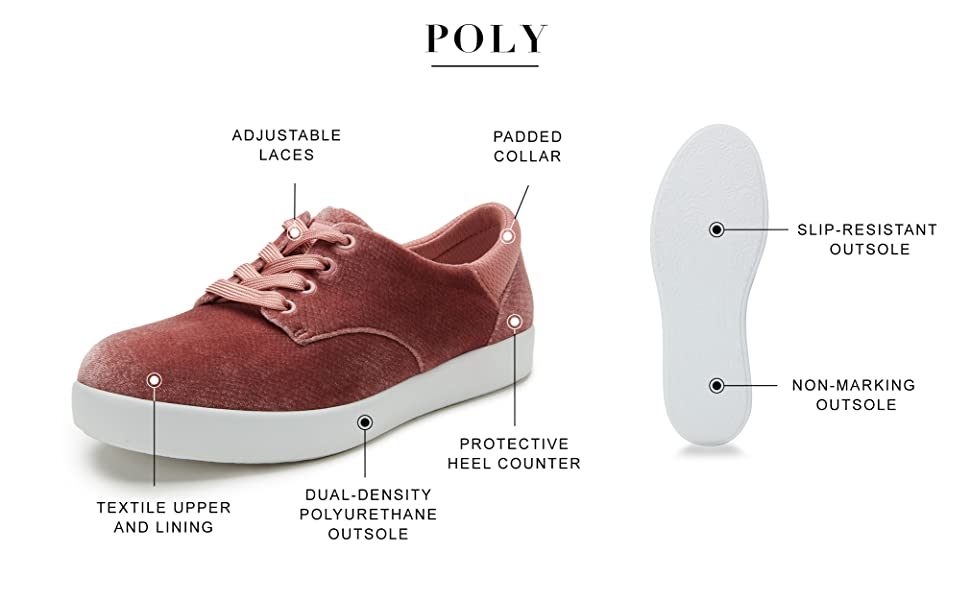 Alegria by PG Lite POLY cute and comfortable style APMA accepted shoes for women