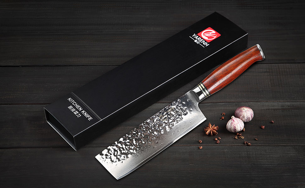 Compra YARENH Cuchillos de Cocina Verdura 17cm, Cuchillo de Cocina ...