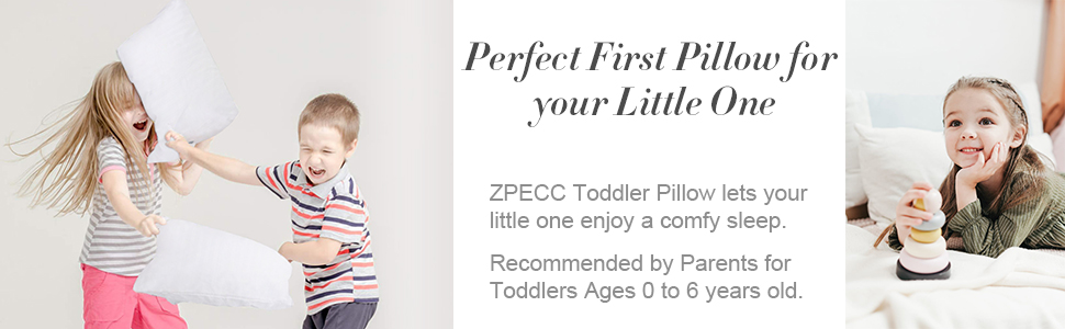 Perfect First Pillow for Your Little One