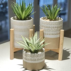 ceramic planters with stands pots with stands adjustable mid century pot stands for planters