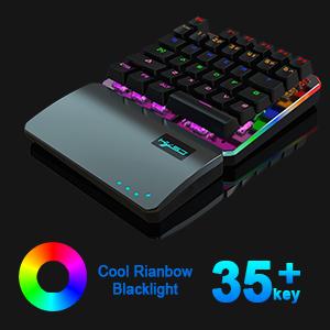 RGB Backlit Gaming Keyboard