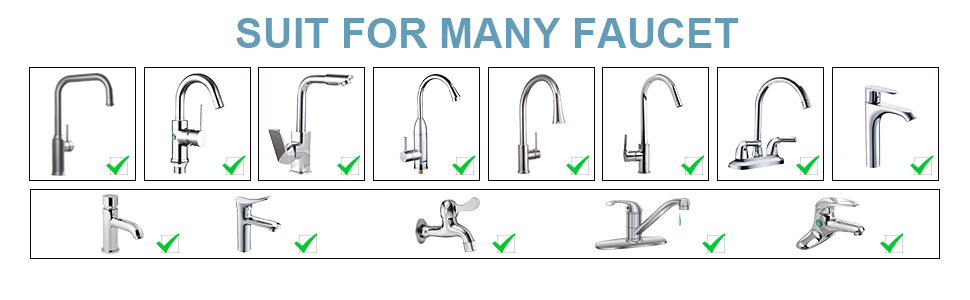 SUIT FOR MANY FAUCET