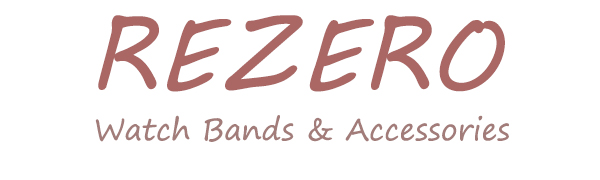 Rezero Leather Watch Band