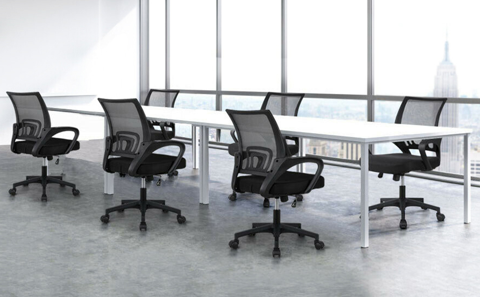 The mesh back adjustable office swivel chair