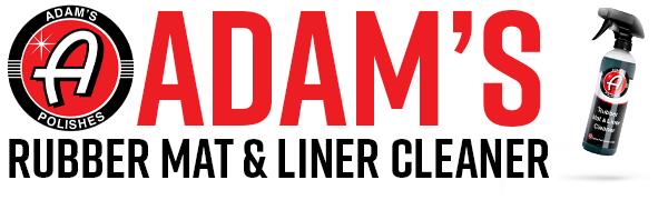 Adam's Polishes Logo Car Care Wax Sealant Detailing Supplies chemical guys shine armor meguiars tire