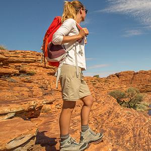 Zip off hiking pants convertible pants to shorts