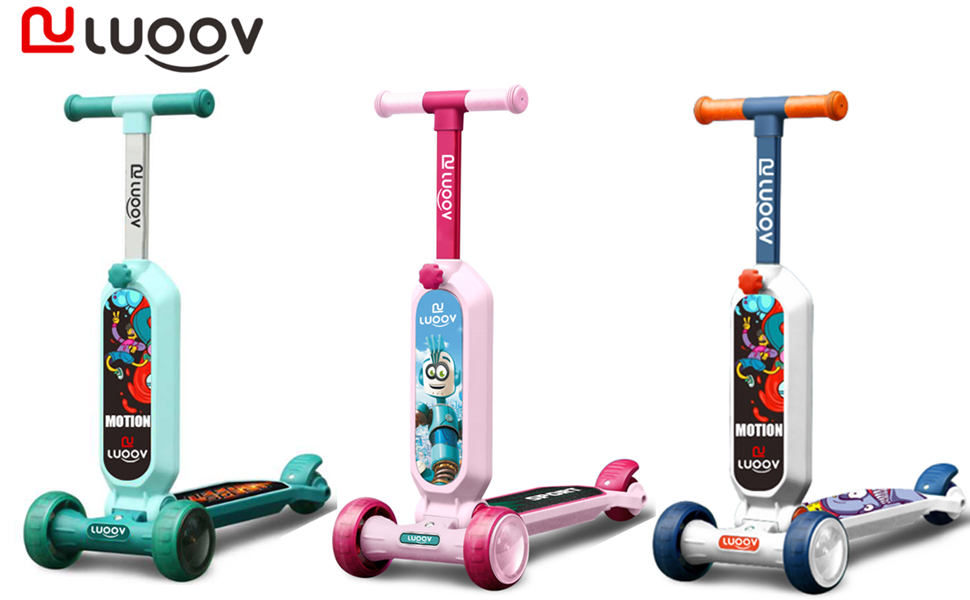 Kids Scooter - A good playmate for kids to grow up