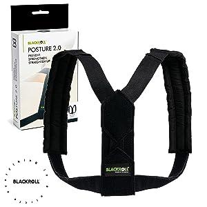 BLACKROLL POSTURE HOUDINGstrainer rechte houder rugband schouderNVORTING