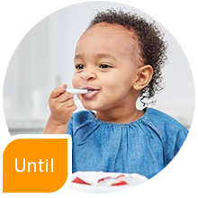 until wrist development develops gootensils numnum baby led weaning blw toddler 2 years spoon