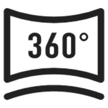 simcam 1s ai security camera 360° Person Tracking
