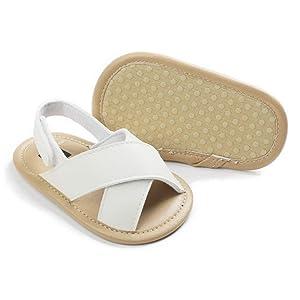 Infant Baby Boys Girls Summer Beach Sandals Breathable Athletic Anti-slip Soft Sole