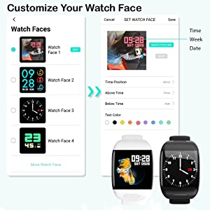 Watch face customization
