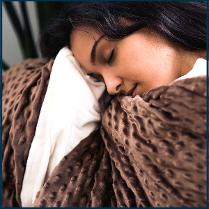 weighted blanket cover adults heavy blankets throw twin heated tranquility anxiety duvet waited soft
