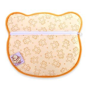 Almohada para Bebe para plagiocefalia desenfundable (con dos forros) para prevenir/curar la Cabeza Plana in Memory Foam Antiasfixia - S&G SHOP-BABY®