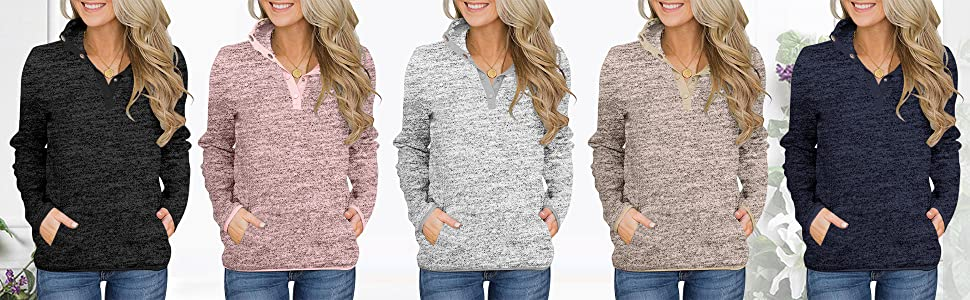 Pullover Sweatshirt Women Fleece Pullover Hoodie Cute Cozy Sweatshirts Pull Over Ugly Sweater