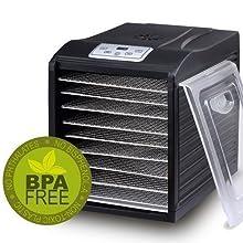 Déshydrateur Alimentaire BioChef Arizona Sol 6 plateaux sans BPA