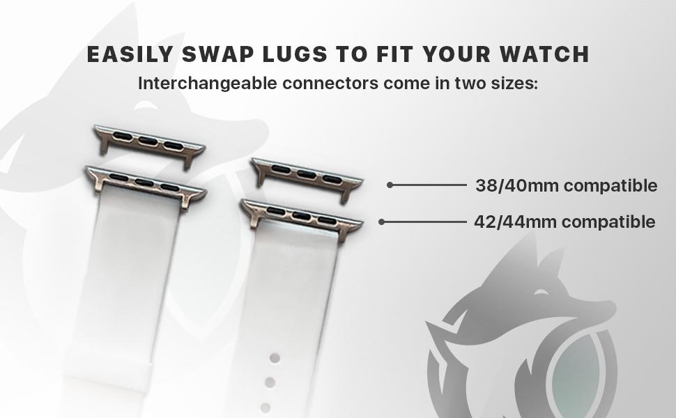 interchangeable lugs