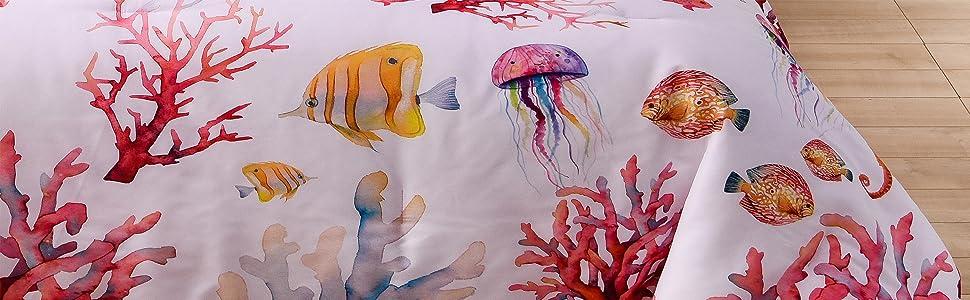 seaside comforter