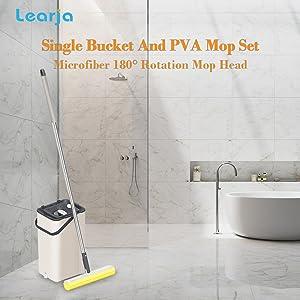 sponge mop and head