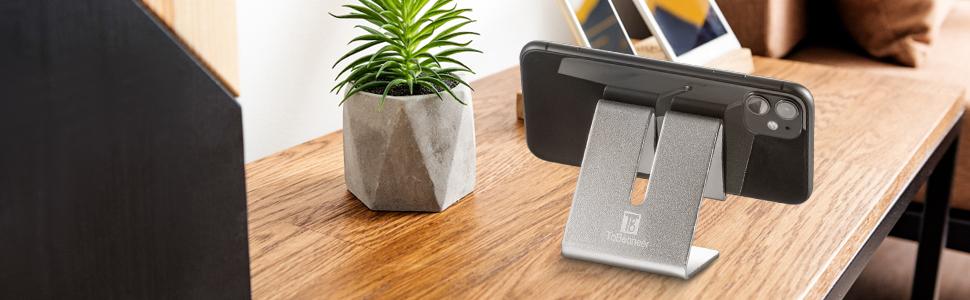 Soporte para teléfono móvil para escritorio