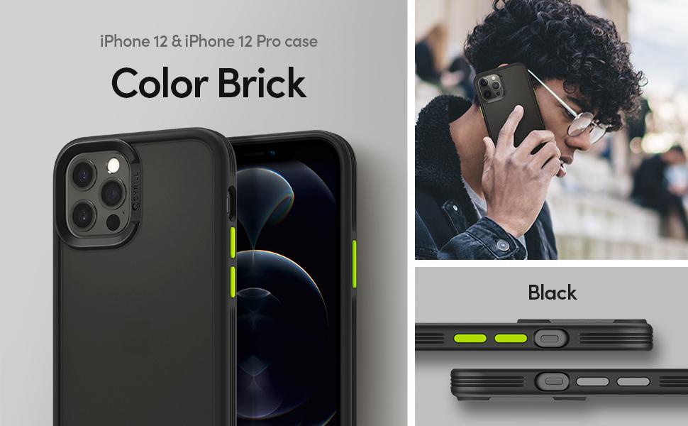 Cyrill Color Brick Hülle Kompatibel Mit Iphone 12 Und Elektronik