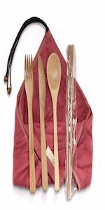 Bamboo Utensil Travel Set