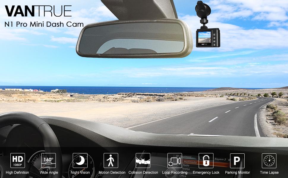 N1 Pro Mini Dash Cam