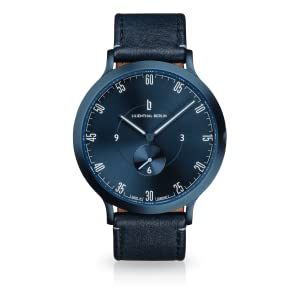LILIENTHAL BERLIN, MEN'S WATCHES, MEN'S WATCH, ALL BLUE WATCHES, SWISS WATCHES, DRESS WATCHES, QUALITY WATCH