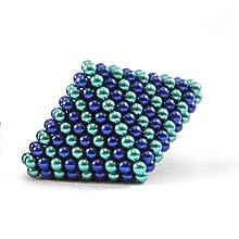 denim light and dark blue speks in a diamond
