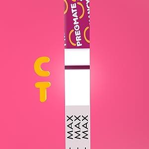 Pregmate Pregnancy test strips negative result example