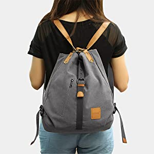 Damen Canvas Handtasche Schultertasche Casual Multifunktionale Umhängetaschen Groß