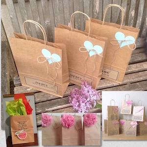 decorate paper bags kraft gift bags brown bags paper bags with handles bolsas de papel kraft