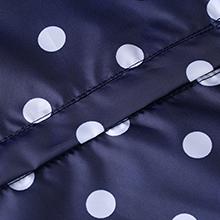 blue navy rain jacket for women