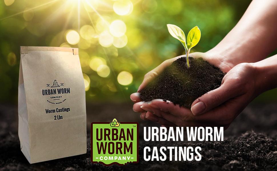 life soil worm castings gardening earthworms sale coconut coir plants live urban