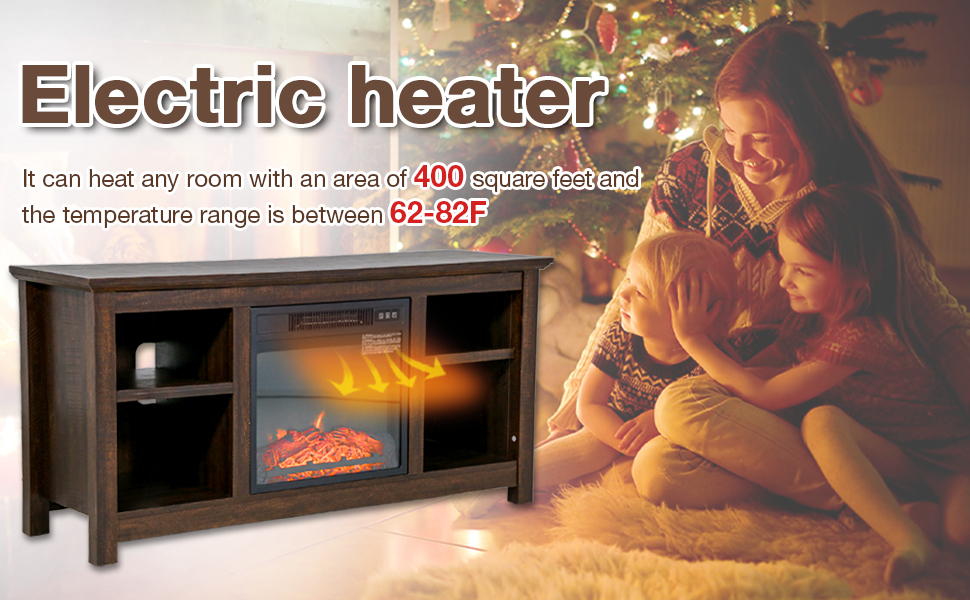 36''_Electric_ fireplace_Free_ Standing_Wall_ Mounted_01