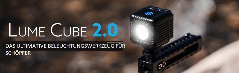 Lume Cube 2 0 Professional Beleuchtungsset 2 Leuchten Kamera