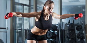 Women High Impact Racerback Workout Bra for Running