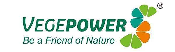 vegepower vegan health supplement pill capsules hair growth biotin gummy