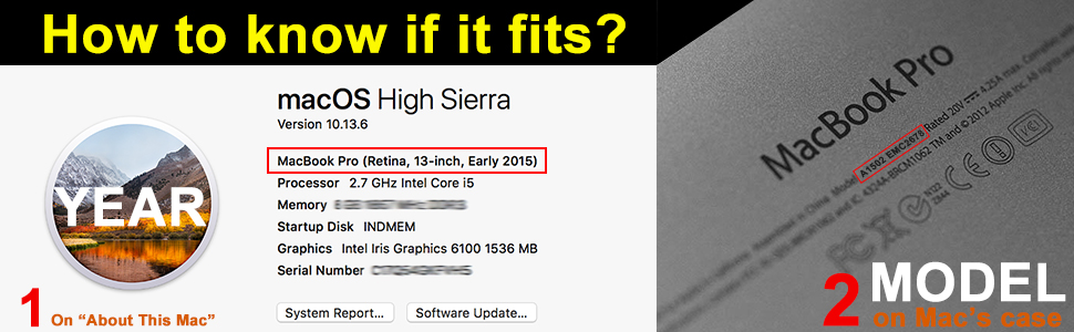 How to install macOS. How to know if the SSD fits MacBook.