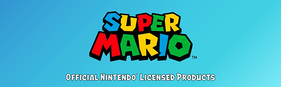 Super Mario Official Nintendo Licensed Products