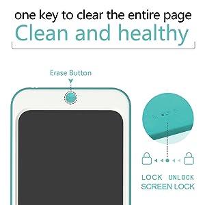 Doole pad with screen lock