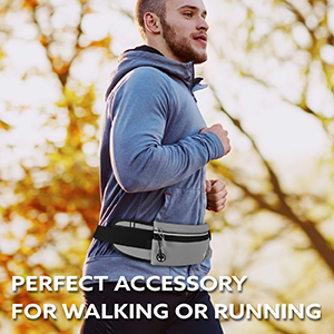 Perfect accessory for walking or running.